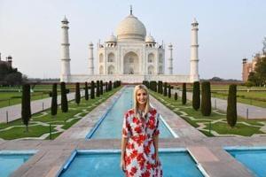Ivanka Trump and husband Jared Kushner take tour of Taj Mahal- See pics