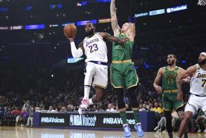 'Just gave a little dream shake': Lebron James' go-ahead jumper lifts LA Lakers over Celtics