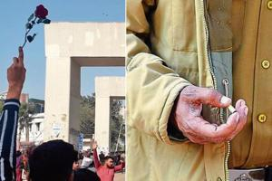 Began with roses, ended with bullets: How CAA protests in Delhi unfolded