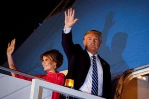 President Trump returns to US after 'very successful' India trip
