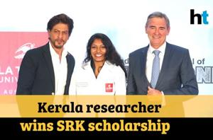 SRK felicitates winner of Shah Rukh Khan PhD Scholarship: 'Education is...