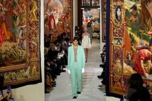 Paris Fashion Week: Lanvin's Bruno Sialelli revisits tradition in retro-themed show