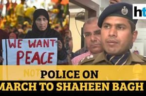Postponed march to Shaheen Bagh: Delhi Police after speaking to stakeho...