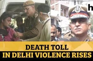 Delhi violence: Death toll rises to 42, police visits affected areas