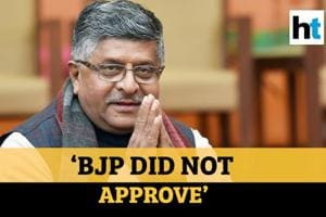 'BJP did not approve': RS Prasad over inflammatory speeches by party le...