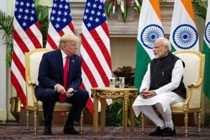 Taking out his iPad, PM Modi made on the spot trade presentation to Trump