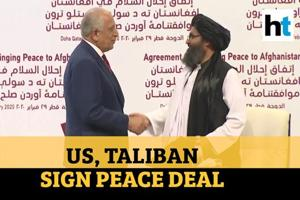 Watch: US, Taliban sign peace deal aimed at ending war in Afghanistan