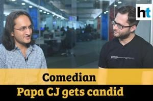 Comedian Papa CJ on his autobiography, Naked, performing on gunpoint and...