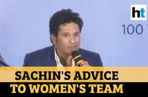 Give your best: Tendulkar's advice to women's team ahead of T20 World Cup...