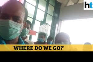 Coronavirus threat: 'Where do we go?' cry Indians stuck at Italy airport