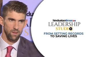 Michael Phelps on Olympic glories & battling depression l HT Leadership...