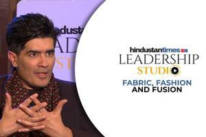 Manish Malhotra's unique fashion story & Bollywood challenges I HT Leadership...