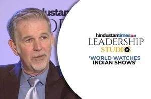 HT Leadership Studio l Netflix CEO Reed Hastings reveals plans for India