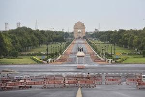 Photos: India's landmarks stand empty in the wake of a 21-day lockdown