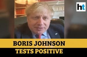 'Will beat this': Boris Johnson after testing positive for Covid-19