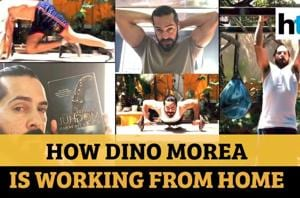 'Books, workout, movies': How Dino Morea is working from home amid lock...