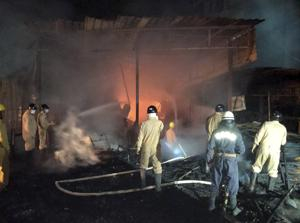 Furniture shop in Delhi's Shaheen Bagh gutted in fire