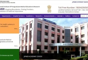 JIPMER July 2020: Application deadline for MD/MS extended, admit card to release on May 6