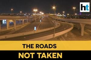 Watch: This is how the usually busy roads of Dubai look like during cur...