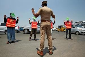 Photos: A day in the life of India amid the COVID-19 lockdown