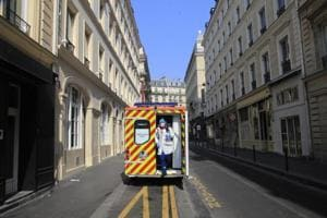 Photos: On the road with France's front-line coronavirus responders