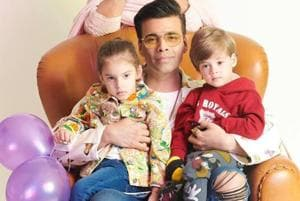 'Girls clothes, wear simple clothes': Karan Johar's kids have some strong opinions on his style