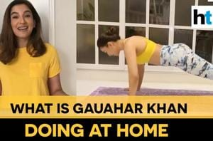 Watch: Whom Gauahar Khan wants her fans to think about during lockdown