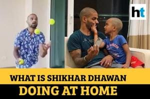 Watch what Shikhar Dhawan is learning during lockdown