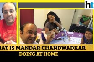 Watch what Taarak Mehta Ka Ooltah Chashmah actor Mandar is doing at home