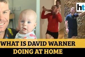 World in Lockdown: Aussie opener David Warner and 'high speed sprints'