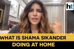 How actor Shama Sikandar is learning to cook at home amid lockdown