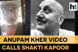 'Aaooo': Watch Anupam Kher and Shakti Kapoor's video call amid lockdown
