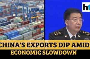 China's exports fell further in March amid global economic slowdown due...