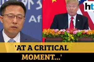 Watch: China slams Donald Trump for halting WHO funding amid Covid pand...