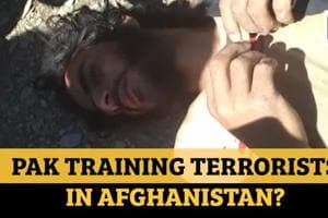 Watch: Pak terrorist caught in Afghanistan, was training for violence in...