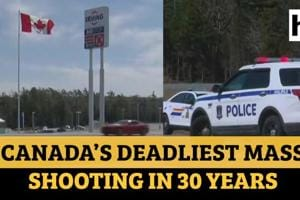 Canada shooting rampage: Over 10 killed, police officer among dead