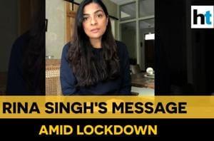 Watch designer Rina Singh's message for fans amid lockdown