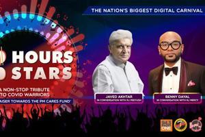 100 Hours 100 Stars: Javed Akhtar & Benny Dayal