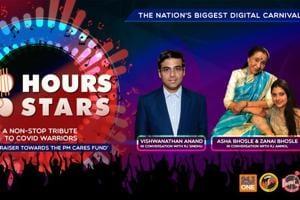 100 Hours 100 Stars: Vishwanathan Anand & Asha Bhosle