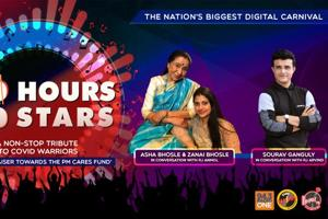 100 Hours 100 Stars: Launch with Sourav Ganguly and Asha Bhosle