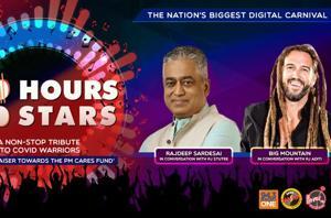 100 Hours 100 Stars: Rajdeep Sardesai and Big Mountain