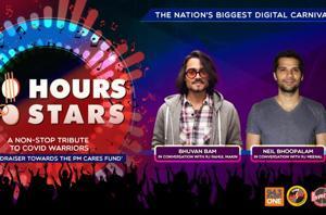 100 Hours 100 Stars: Bhuvan Bam and Neil Bhoopalam