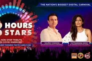 100 Hours 100 Stars: Gaurav Chanana and Chitrangada Singh