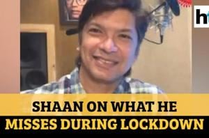 Watch: Shaan plays lockdown antakshari, shows how he used to sing at age...