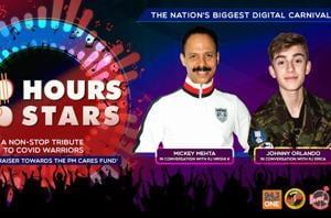 100 Hours 100 Stars: Mickey Mehta and Johny Orlando