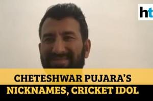 Cheteshwar Pujara reveals his cricket idol, nicknames given by foreign ...