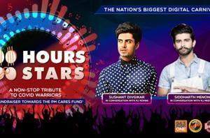 100 Hours 100 Stars: Sushant Divgikar and Siddharth Menon