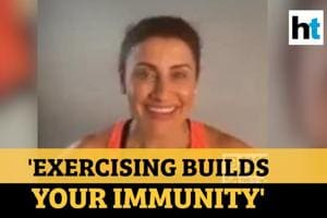 'Exercising is the time for us to breathe': Yasmin Karachiwala #100Hour...