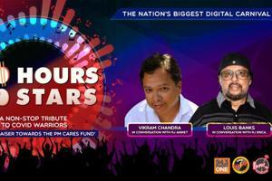 100 Hours 100 Stars: Vikram Chandra and Louis Banks