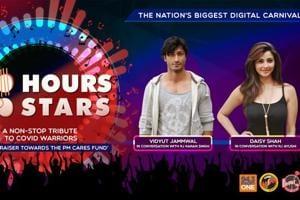 100 Hours 100 Stars: Vidyut Jammwal and Daisy Shah